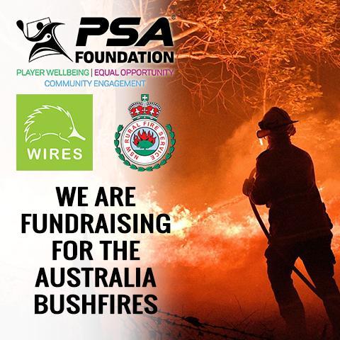 ToC and PSA fundraising aid for Australian Bushfires